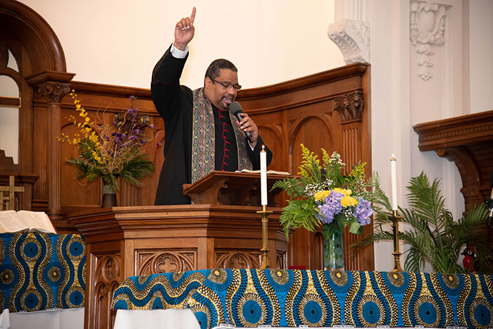 part of a church service