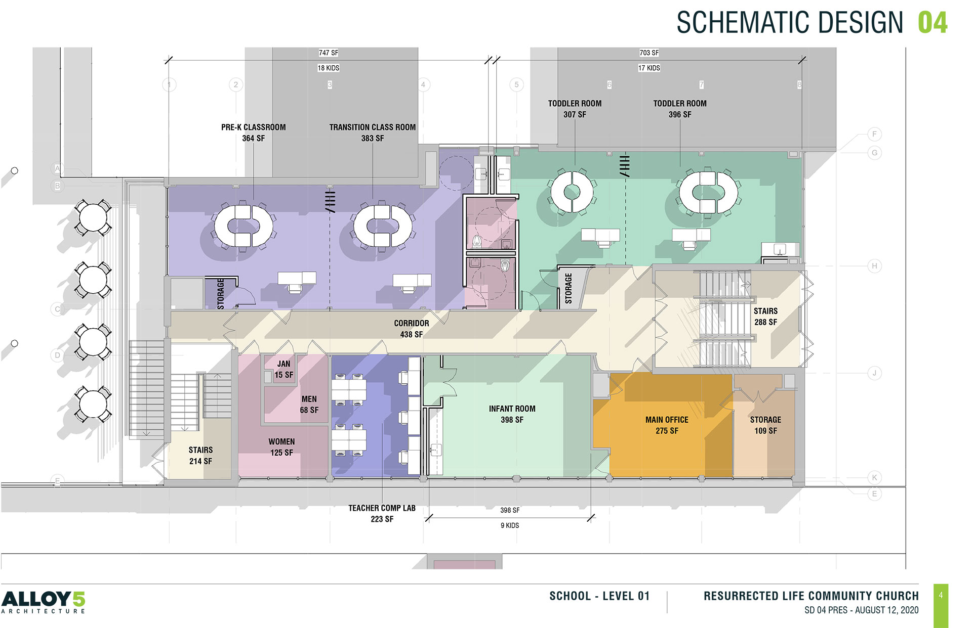 layout plans for RCDC school renovations